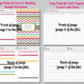 Dave Ramsey Budget Template Elegant Bud Tracker Worksheet 1 Monthly Intended For Monthly Financial Budget Template