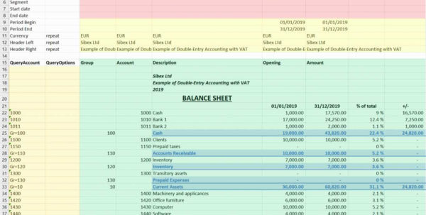 Double Entry Accounting Spreadsheet | Worksheet & Spreadsheet 2018 To Accounting Spreadsheet