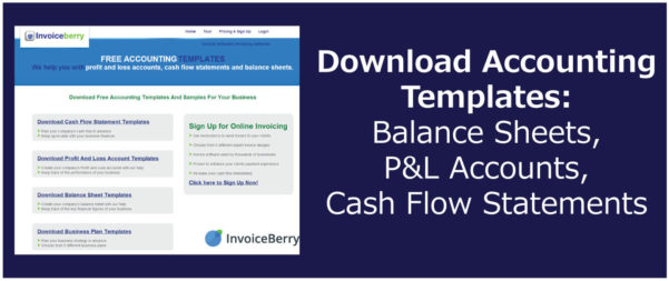 Download Accounting Templates: Balance Sheets, P&l Accounts, Cash For Accounting Templates In Excel