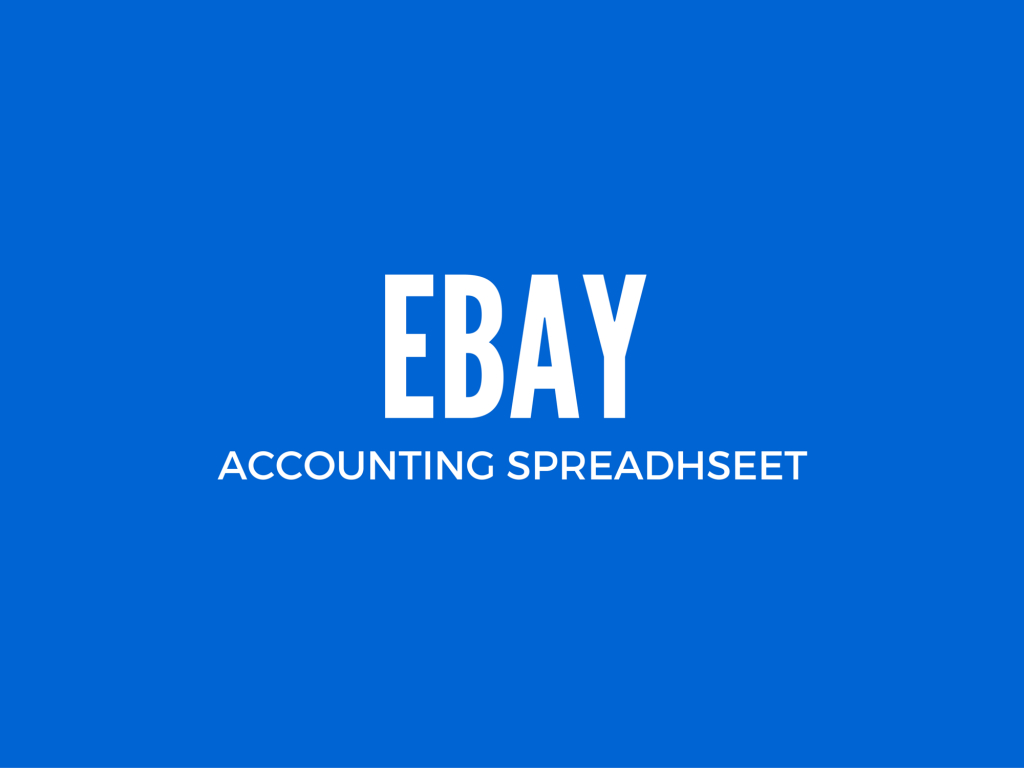 Ebay Excel Accounting Spreadsheet With Bookkeeping For Ebay Sellers