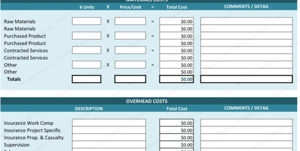Employee Cost Spreadsheet As How To Make A Spreadsheet Expense In Cost Spreadsheet Template
