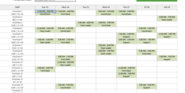 Employee Schedule Template Excel Filename | Isipingo Secondary And Employee Schedule Format