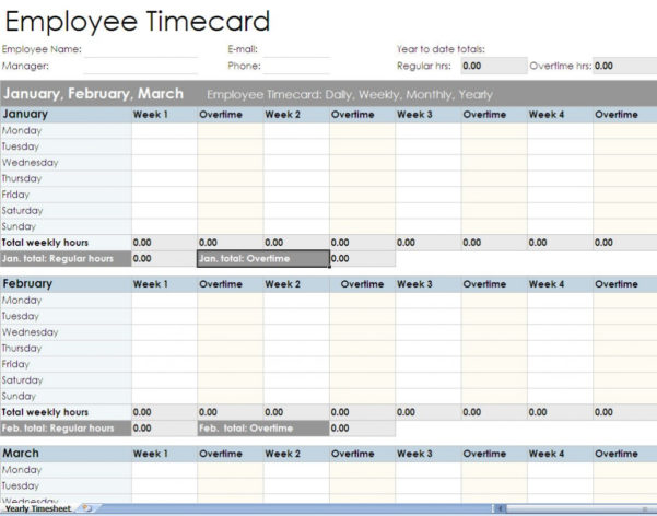 Employee Timesheet Spreadsheet Form Excel Templates To Timesheet Spreadsheet Template