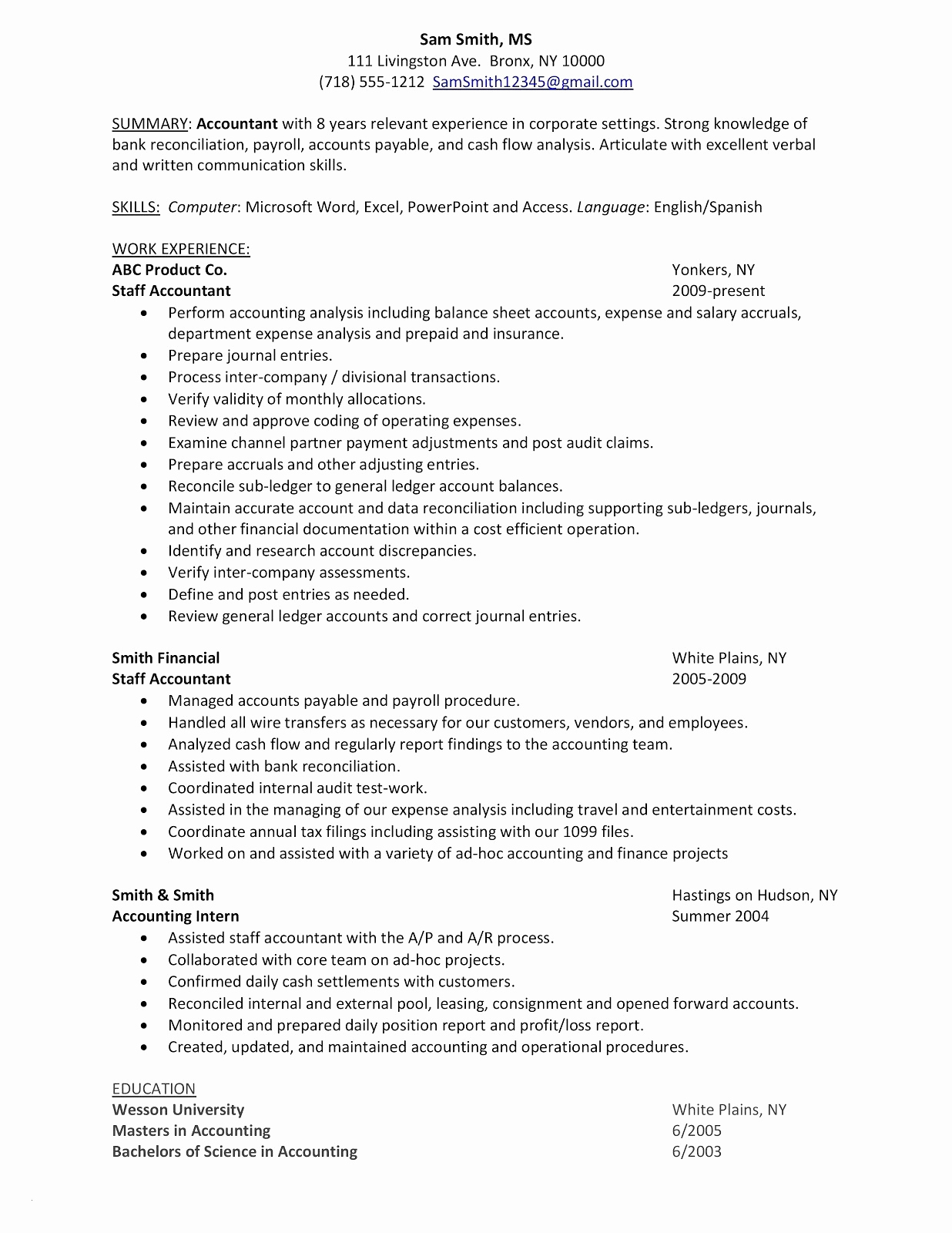 Entry Level Bookkeeper Resume Sample Bookkeeper Job Description For Inside Bookkeeping Resume Template