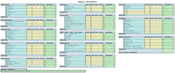 Estimating Spreadsheet Template Spreadsheet Templates For   Free Inside Construction Estimating Spreadsheet Template