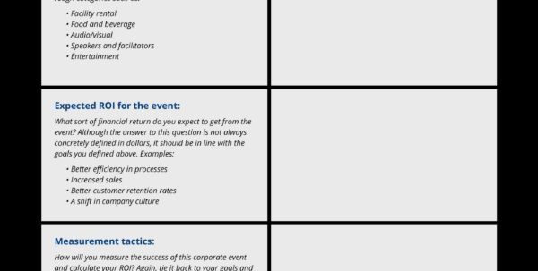 Event Management Portfolio Sample Inspirationa Event Planning To Event Planning Spreadsheet Template