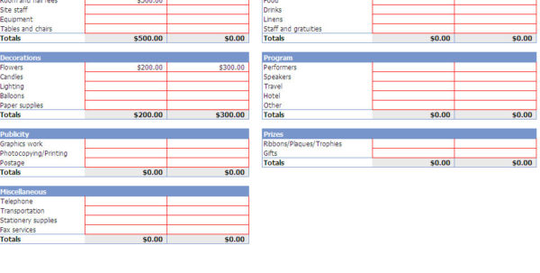 Event Planner Spreadsheet Template 4   Invest Wight To Event Planning Spreadsheet Template