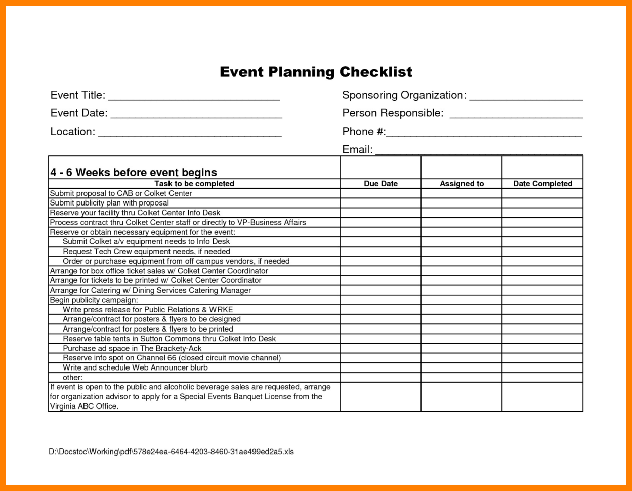 Event Planning Spreadsheet Inspirational Atemberaubend Event In Event Planning Spreadsheet Template