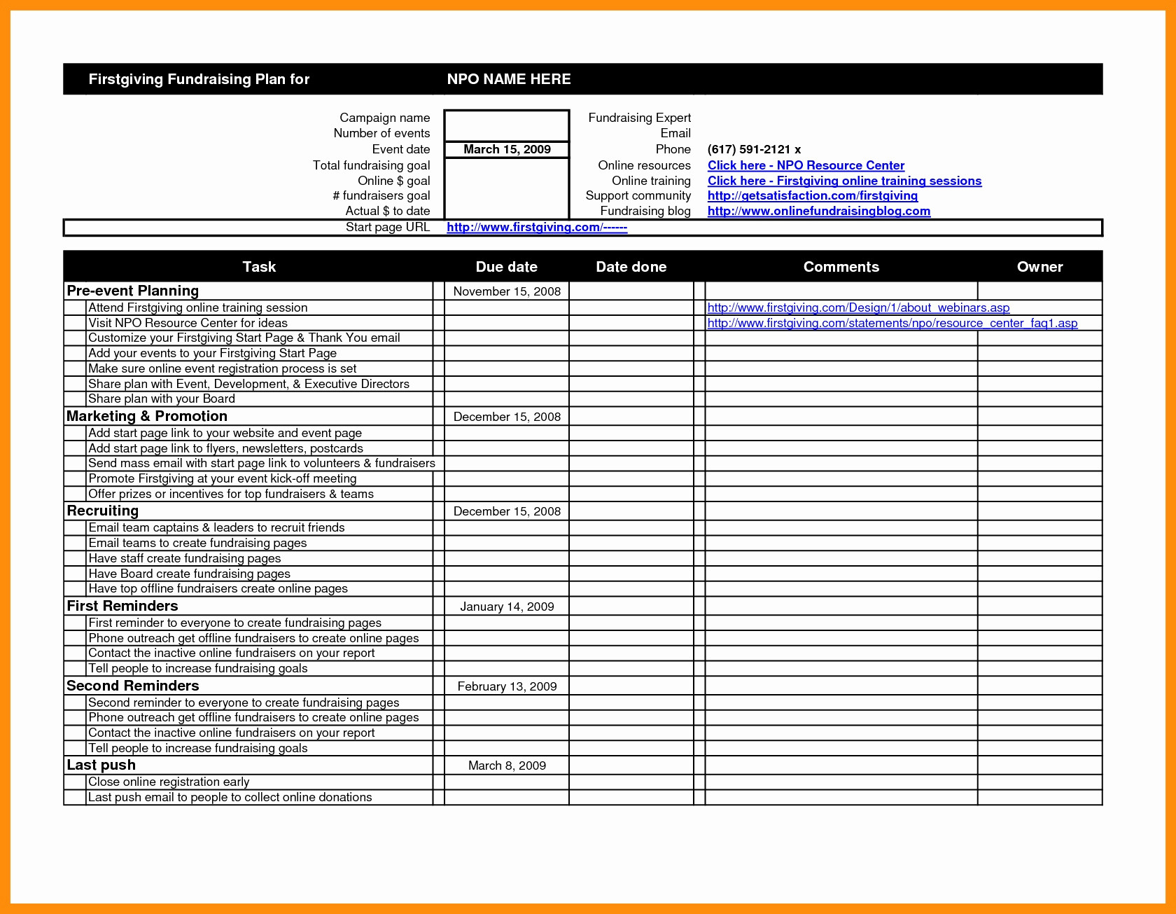 Event Planning Template Excel Inspirational Tolle And Spreadsheet Templates Excel