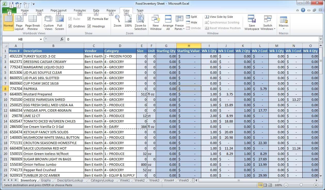 Example Of A Spreadsheet With Excel | Spreadsheets Inside Sample Within Sample Excel File Inventory