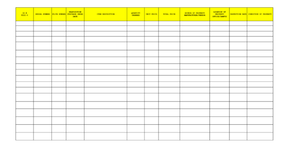 Example Of Office Supplies Inventory Spreadsheet Supply List Inside Supply Inventory Spreadsheet Template