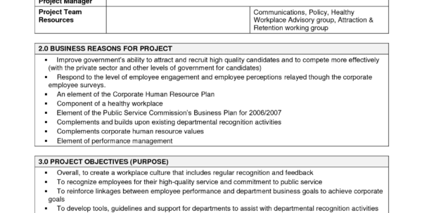 Example Of Project Charter For Construction Project   Zoro.9Terrains.co Intended For Project Management Charter Templates