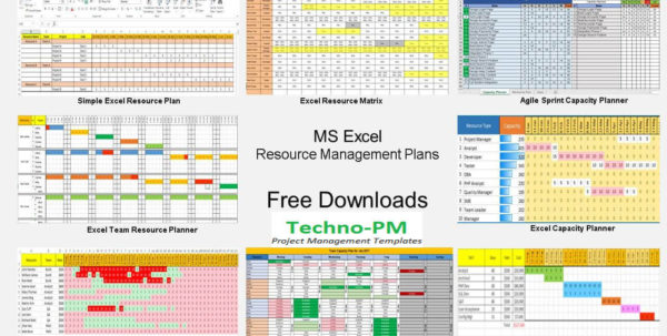 Example Of Resource Management Spreadsheet Plan Template Project To Project Resource Management Spreadsheet