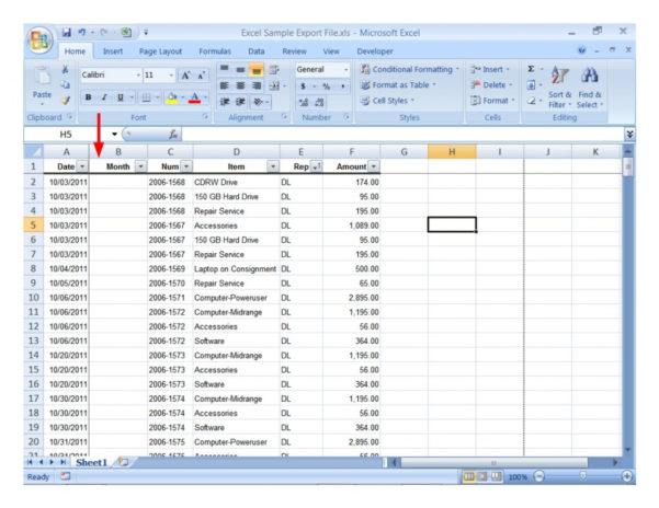 Example Of Spreadsheet Data Analysis Sample Excel For Practice And Example Of Spreadsheet Data