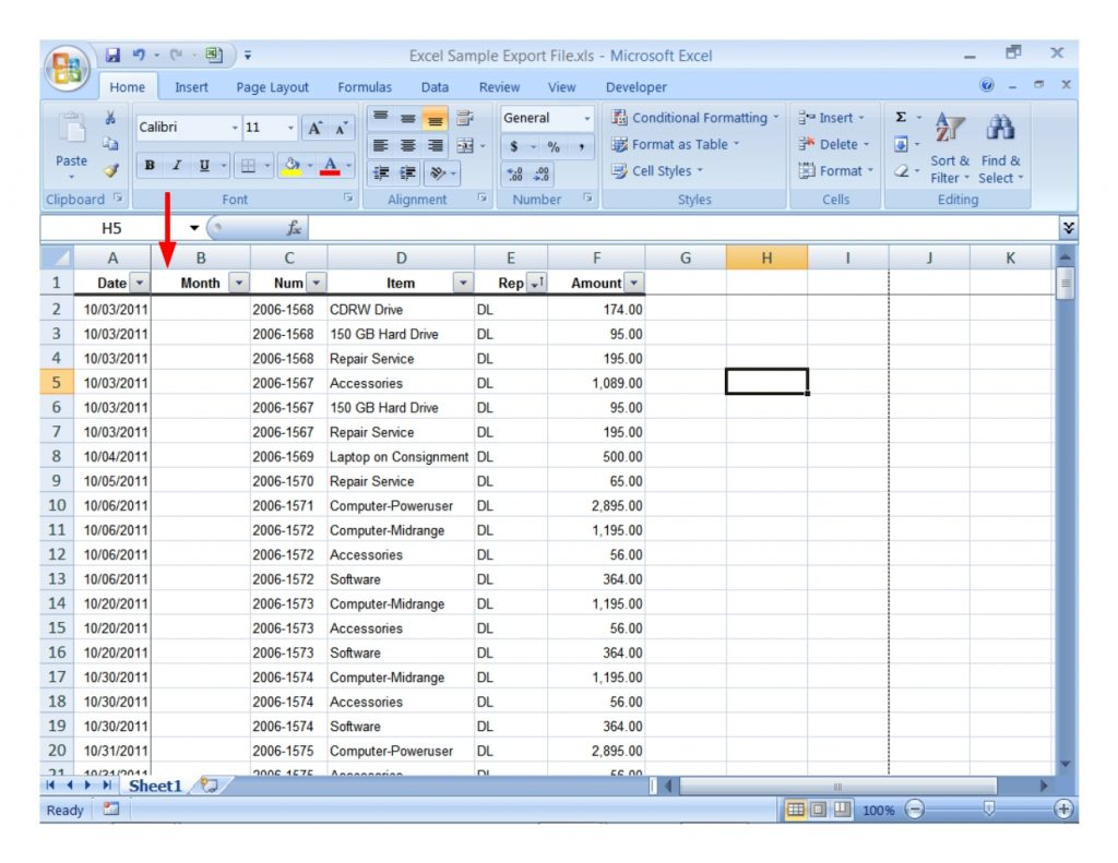 Example Of Spreadsheet Data Analysis Sample Excel For Practice And Example Of Spreadsheet Data