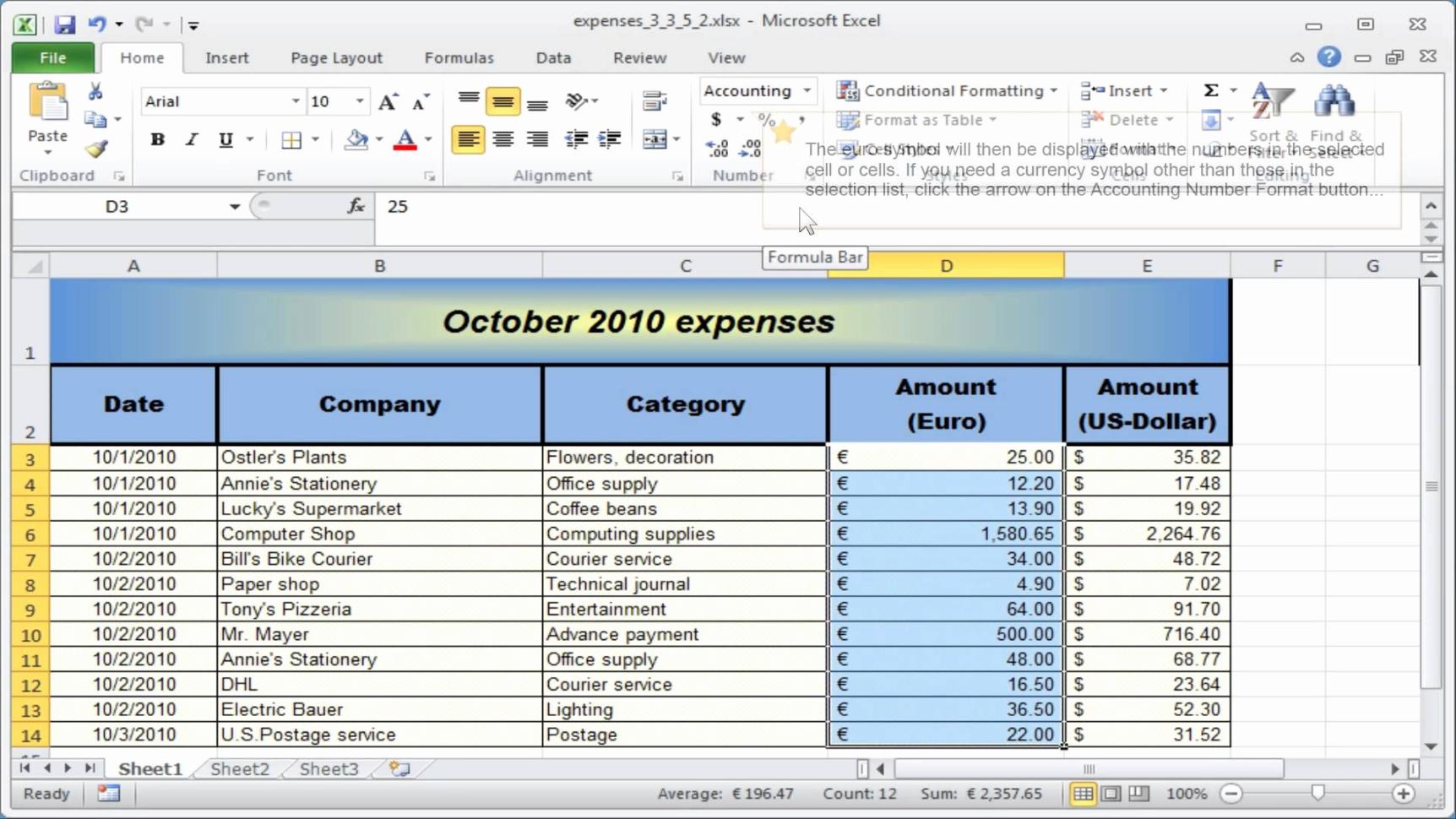 Example Ofmall Business Accountspreadsheet Template Accounting And Excel Accounting Templates