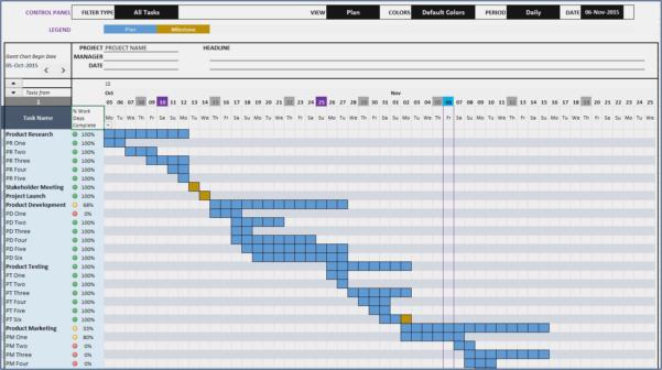 Excel 2010 Gantt Diagramm Vorlage Wunderbar Gantt Chart Maker Excel Throughout Gantt Chart Template Excel 2010