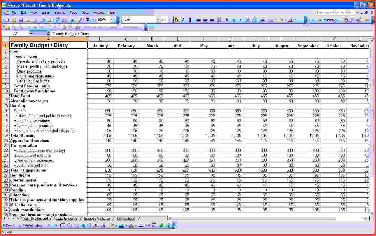 Excel Accounting Template For Small Business | Wolfskinmall And With Household Bookkeeping Template