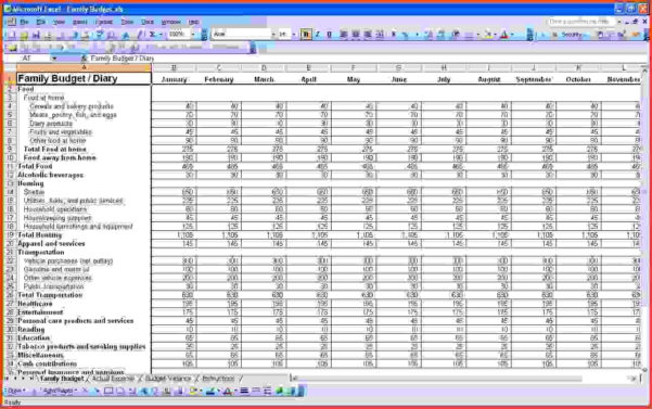 Excel Accounting Template For Small Business | Wolfskinmall With For Home Bookkeeping Excel Template