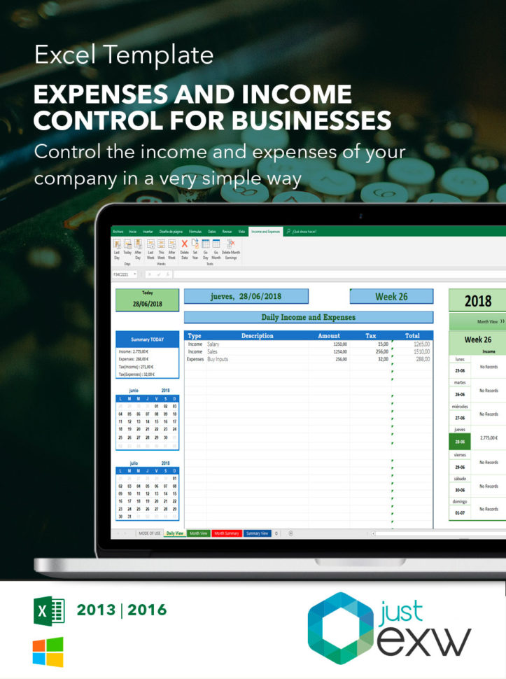 Excel Accounting Template | Free Excel Spreadsheet Throughout Excel Templates For Accounting