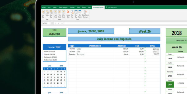 Excel Accounting Template | Free Excel Spreadsheet With Excel Accounting Templates