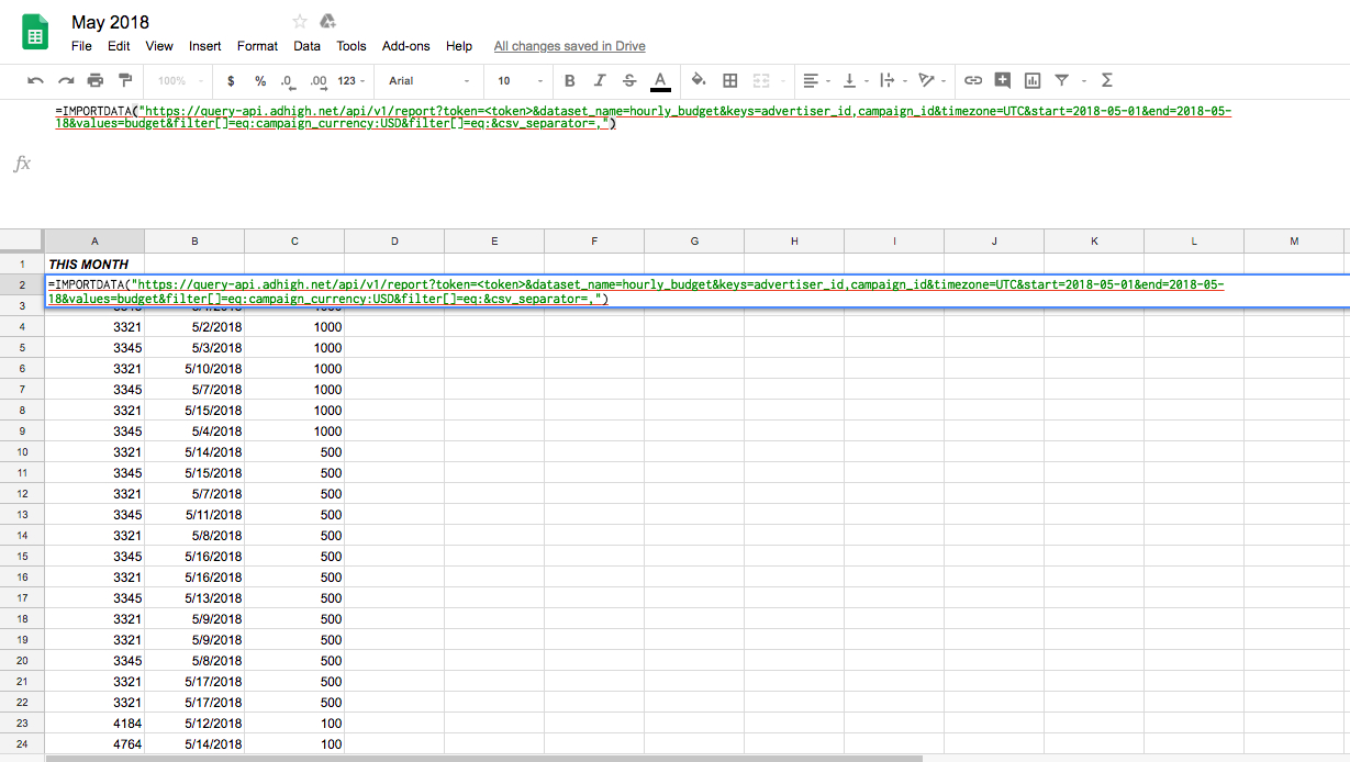 Excel At Reporting: How To Import Data Into Google Spreadsheets Within Google Spreadsheet