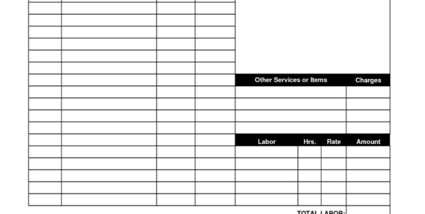 Excel Bookkeeping Invoice Template | Invoice Template Intended For Bookkeeping Invoice Template