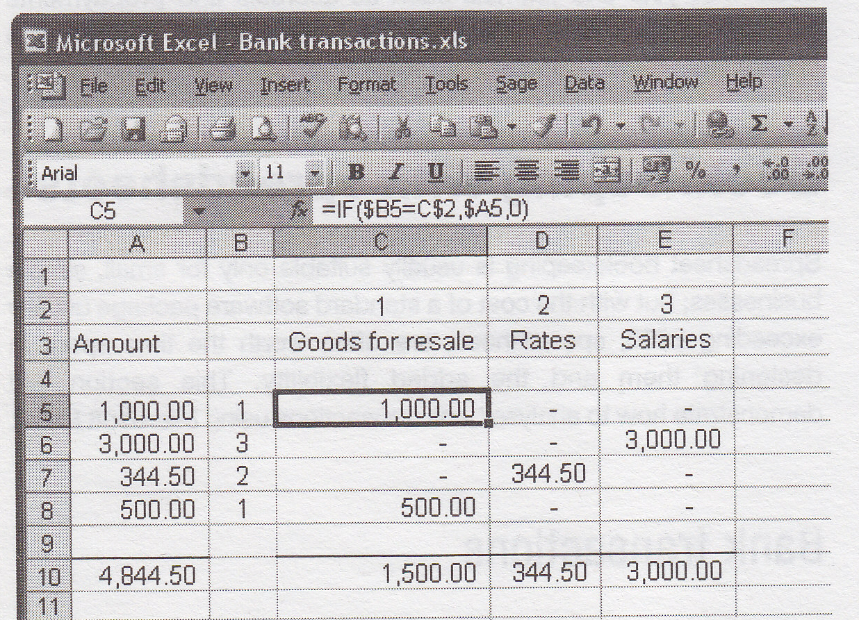 Excel Bookkeeping, Spreadsheets Accounting Intended For Bookkeeping In Excel