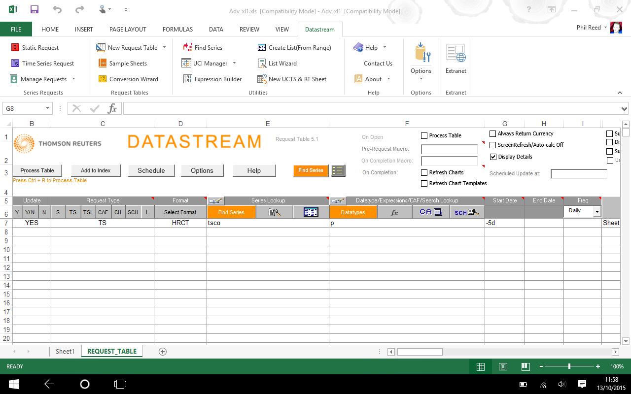 Excel | Business Research Plus To Excel Database Template Wizard