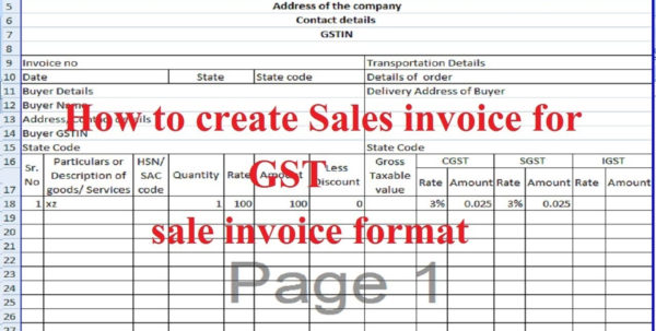 Excel Document Invoice Template | Invoice Template With Excel Spreadsheet Invoice Template