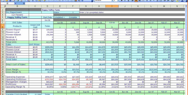 Excel Financial Worksheet Template   Resourcesaver Intended For Financial Budget Spreadsheet Template