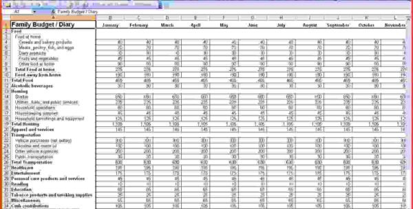 Excel For Small Business Bookkeeping | Papillon Northwan Intended For Bookkeeping In Excel