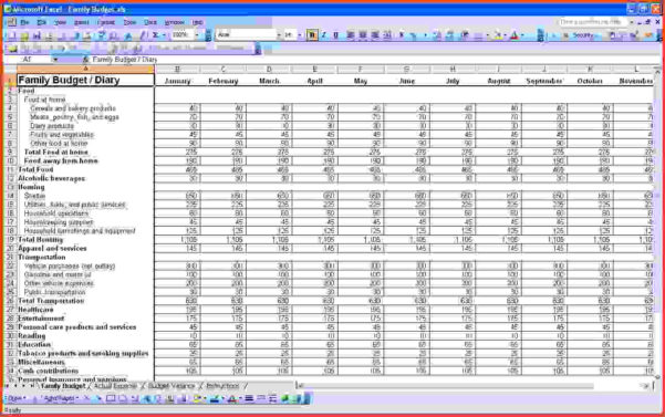 Excel For Small Business Bookkeeping | Papillon Northwan To Bookkeeping On Excel