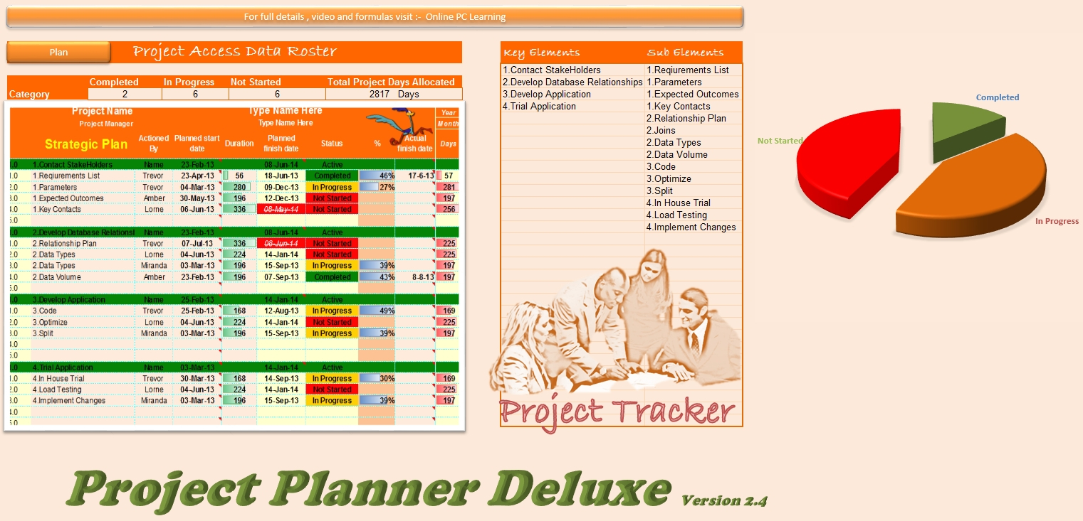 Excel Gantt Chart Template Conditional Formatting Excel Spreadsheet Intended For Excel Gantt Chart Template Conditional Formatting