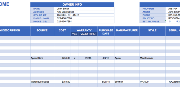 Excel Inventory Templates   Durun.ugrasgrup With Stock Management Software In Excel Free Download