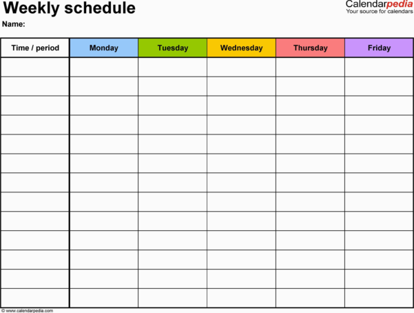 Excel Project Management Template For Mac Free Weekly Schedule In Project Management Templates Mac