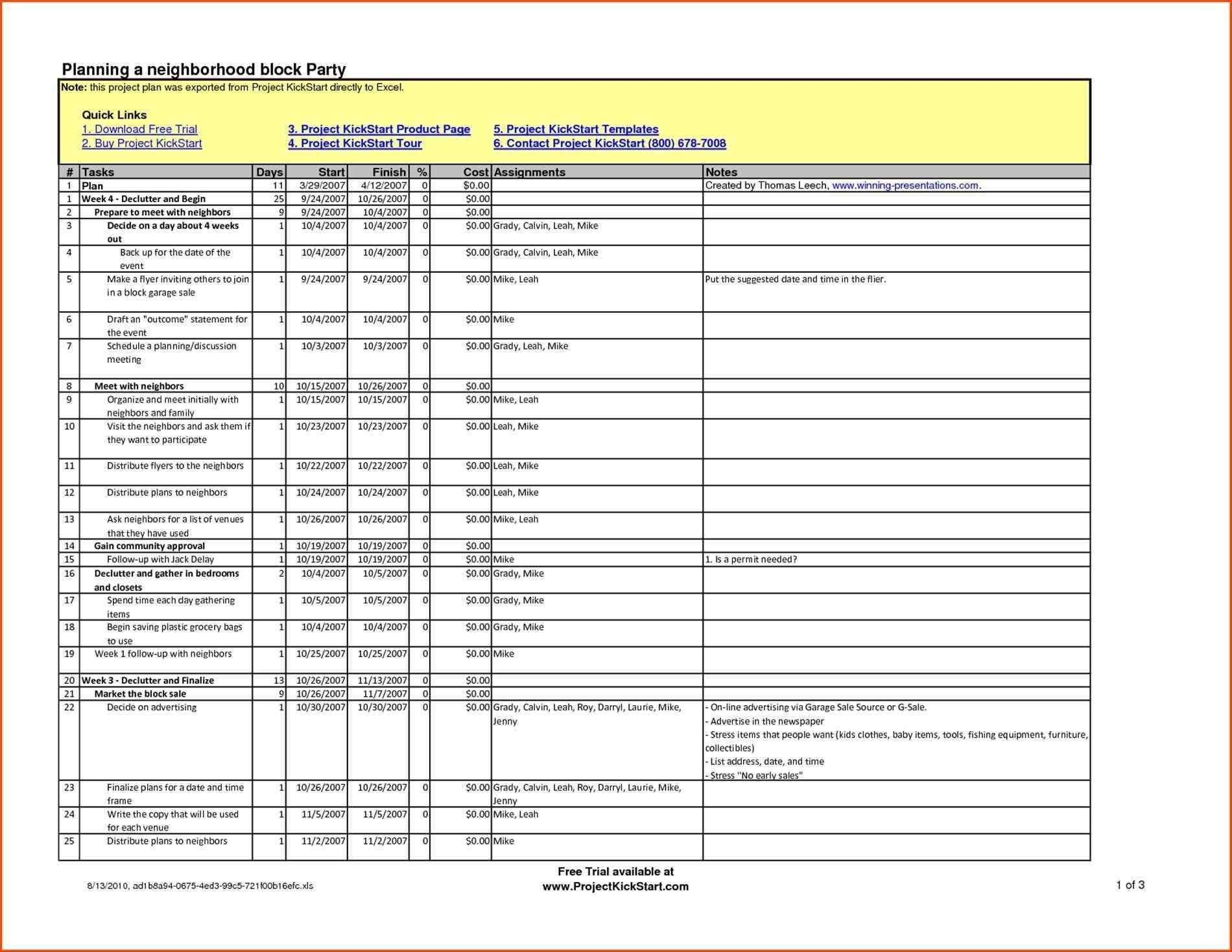 Excel Project Plan Template Gantt Chart Templates Download With Gantt Chart Template Uk
