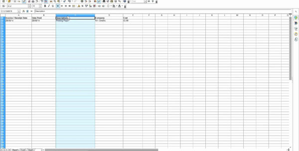 Excel Template For Small Business Bookkeeping Spreadsheet Examples Within Small Business Bookkeeping Spreadsheet Template