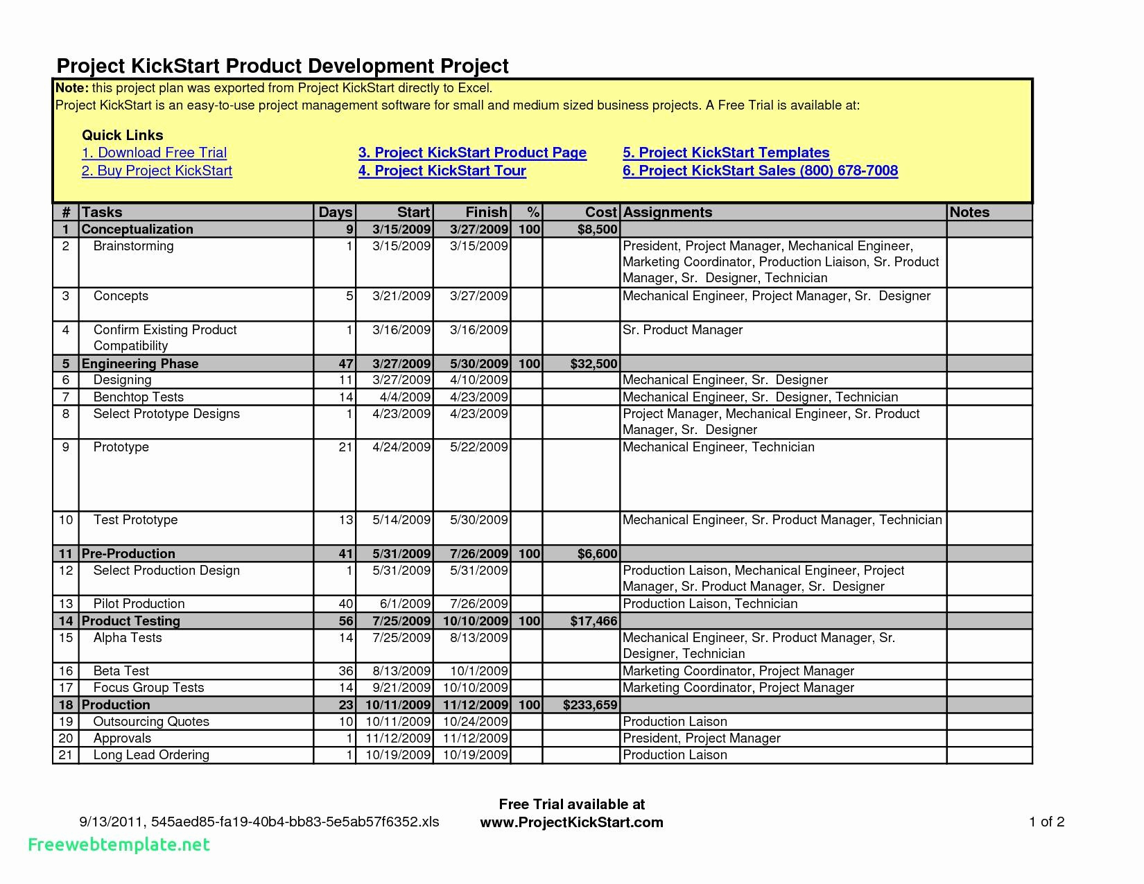 Excel Timesheet Template With Tasks Fresh Spreadsheet Free Excel And Project Management Templates Free
