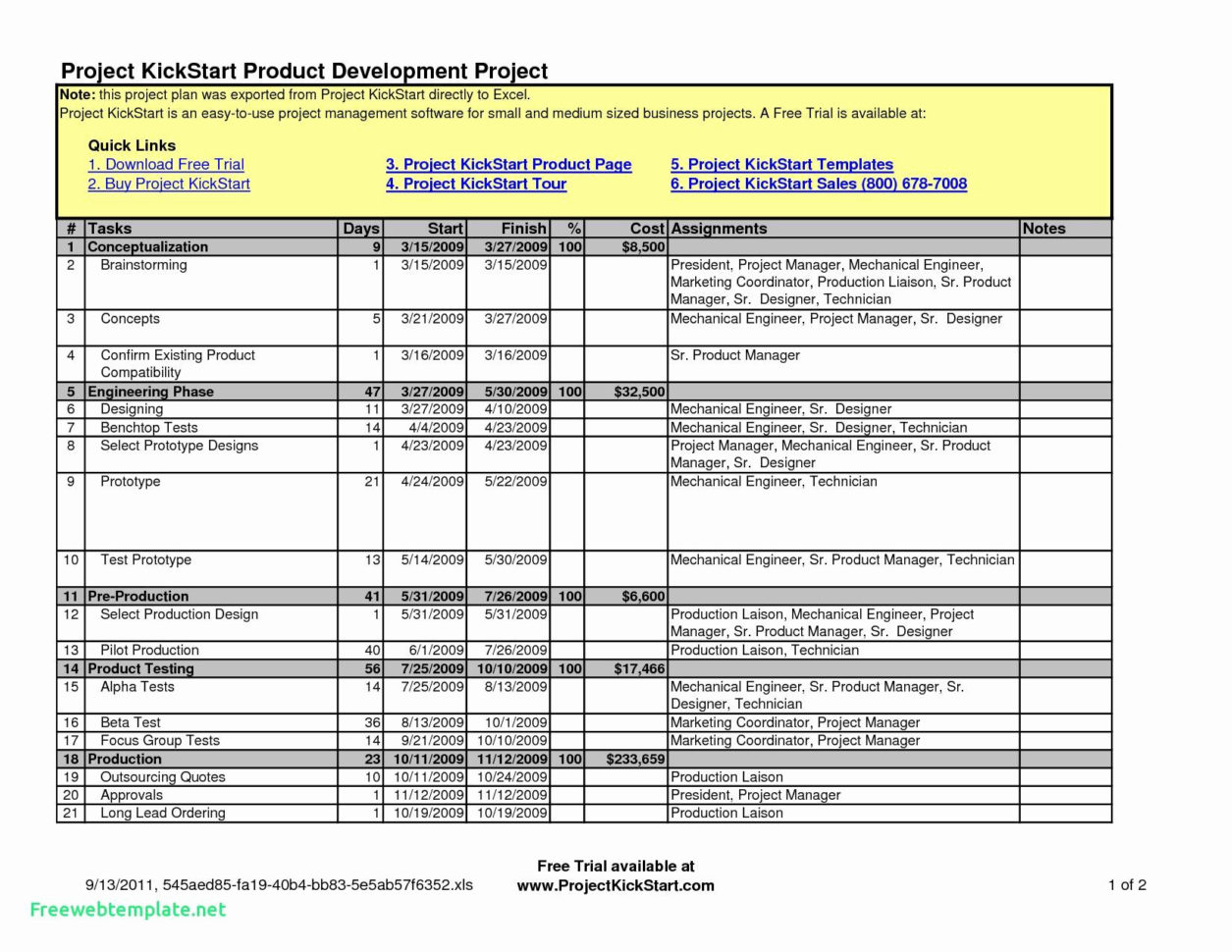 project timesheet template excel free