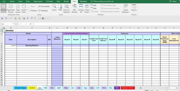 Expense Form Template Intended For Bookkeeping Expenses Template For Bookkeeping Expenses Spreadsheet