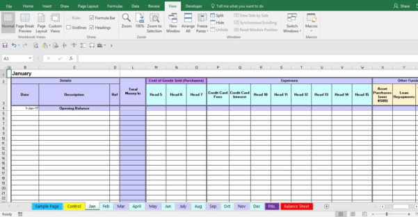 Expense Form Template With Bookkeeping Expenses Template