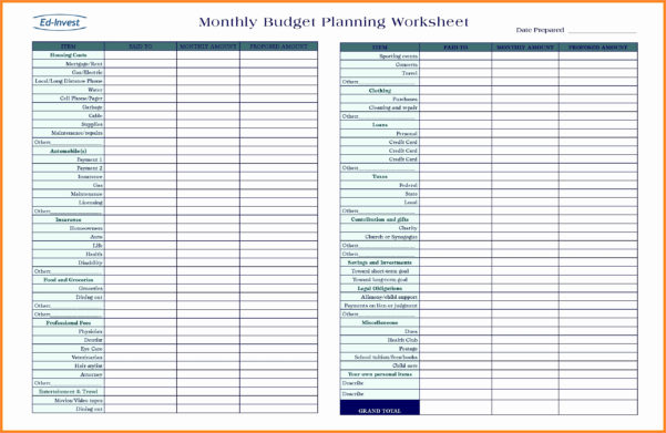 Financial Plan For Business Plan Elegant Spreadsheet Business Plan For Personal Financial Planning Spreadsheet Templates