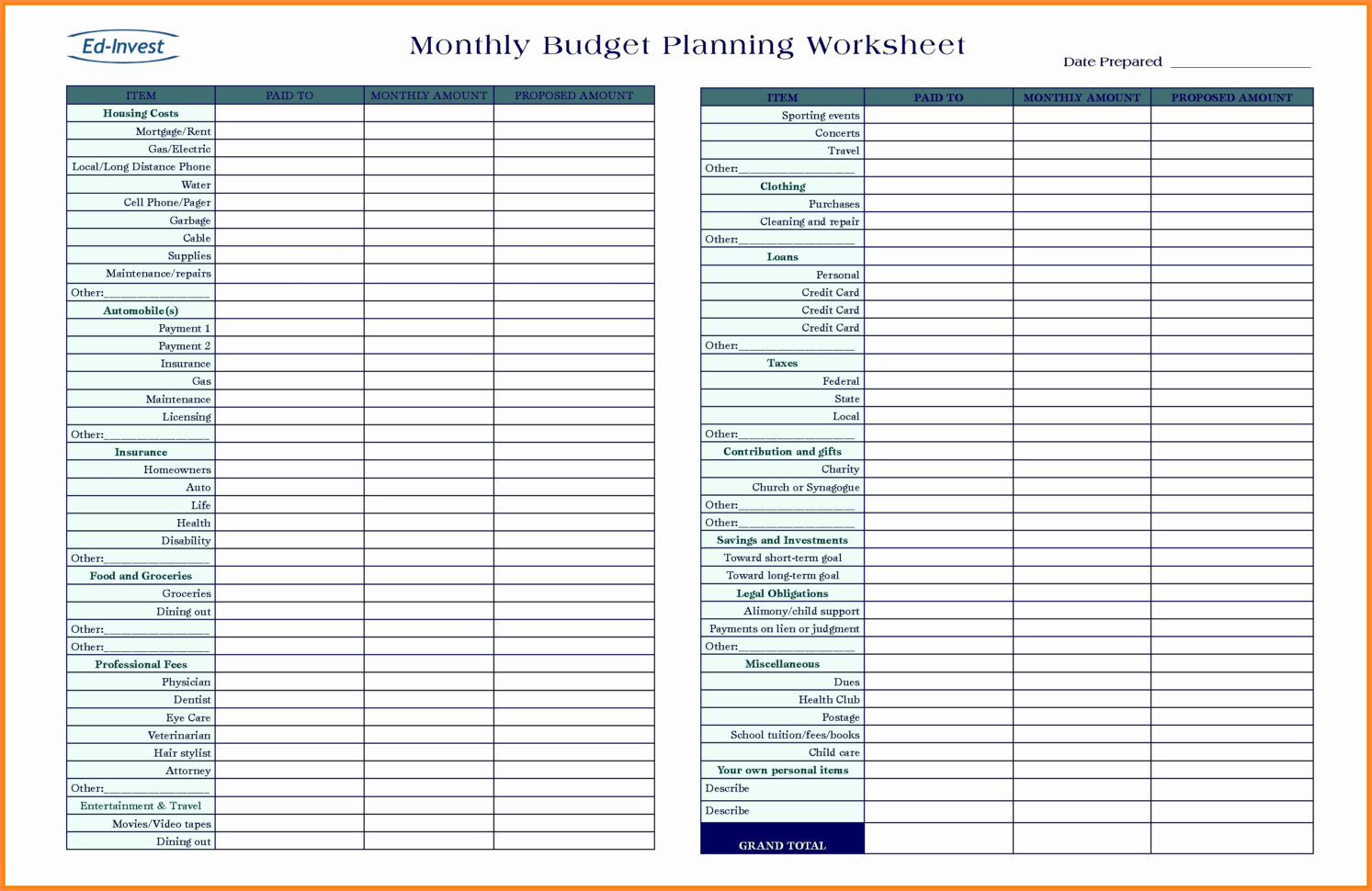 Financial Plan For Business Plan Elegant Spreadsheet Business Plan For Schedule Spreadsheet Template Excel