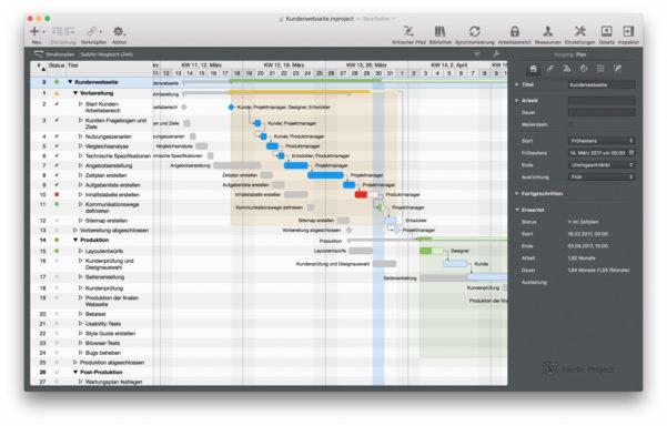 Finden Sie Die Passende Gantt Chart Software Für Ihren Mac In Gantt Chart Template For Mac