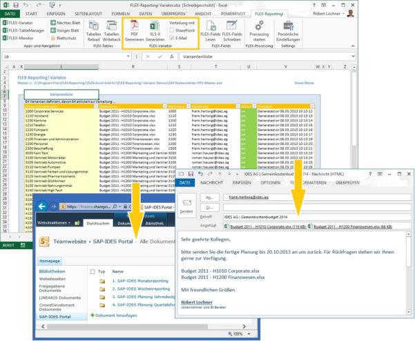Flex Reporting! Release 4.1 | Linearis :: Bi Für Die Fachabteilung For Dashboard Xlsx