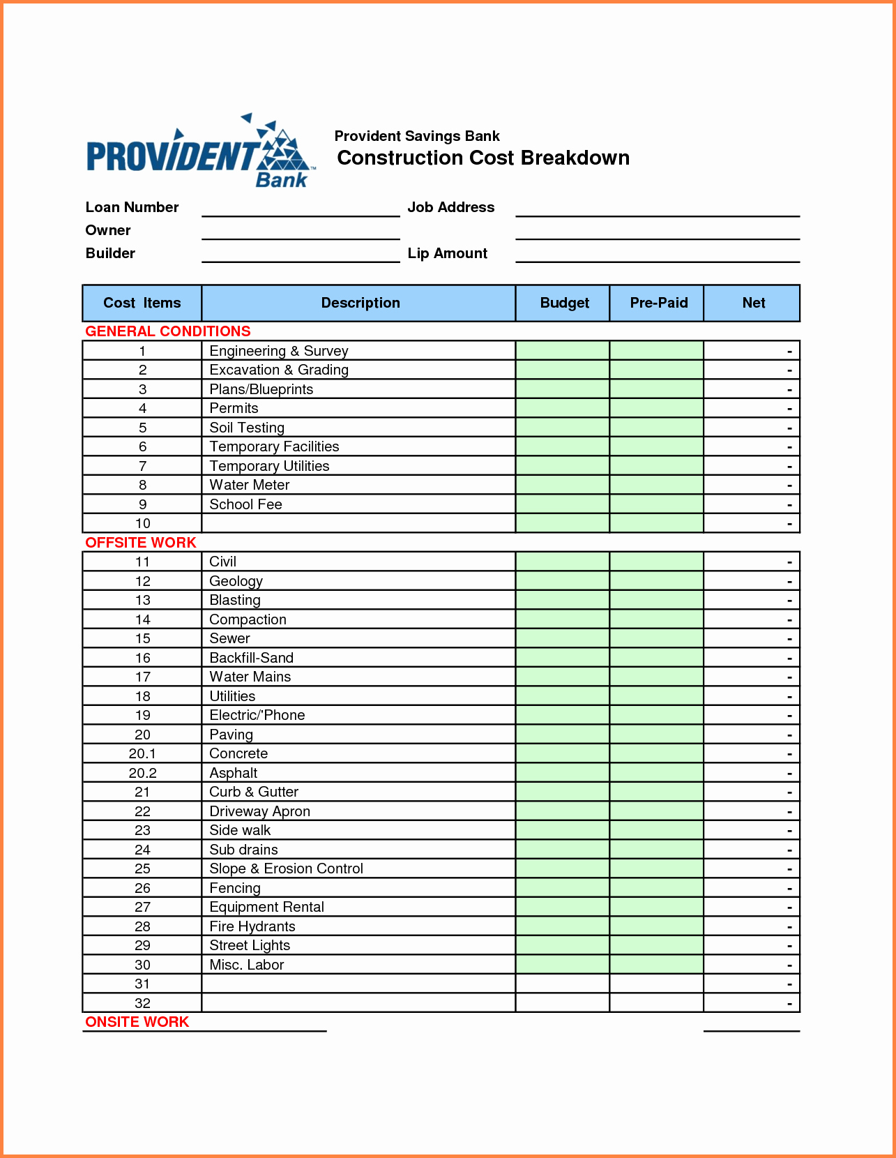 Food Cost Spreadsheet Excel Free Elegant Costing Sheet Template With Cost Spreadsheet Template