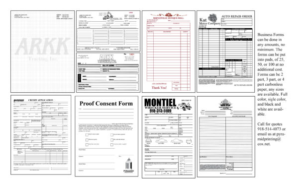 Form Templates Free Business Forms Printable Magnificent Pdf Bill Of In Free Printable Business Forms