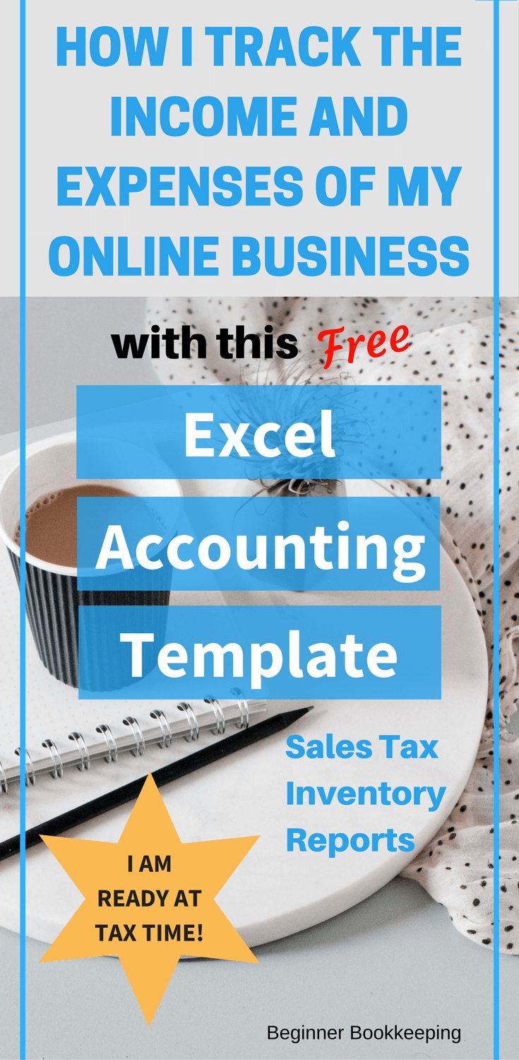 Free Accounting Excel Template For Bookkeeping On Excel