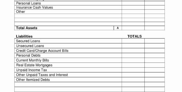 Free Balance Sheet Template How To Make Projected Balance Sheets With Personal Financial Balance Sheet Template